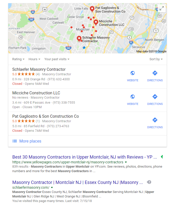 SEO Discovery Page - Website Designs